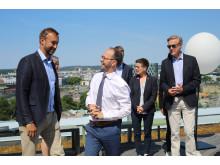 Från regeringens presskonferens på Västsvenska Handelskammaren 2 juni 2018