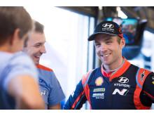 Paddon säkrar fjärdeplats i Rally Finland.