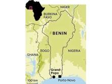 Benin i västra Afrika