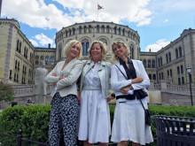 Møtte i Stortinget