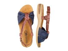 Ayurveda sandal brun/jeans