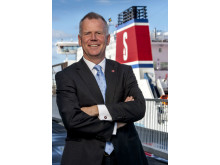 Carl-Johan Hagman, Head of Shipping and Ferries på Stena, är en av huvudtalarna på Logistik & Transport