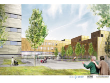 Nytt Østfoldsykehus - indgang