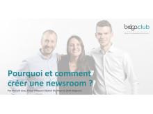 """Belga Club Event: """"Pourquoi et comment AXA a créé une newsroom?"""" - 24/04/19"""