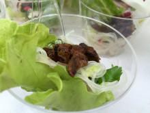Spicy nudelsallad på Pestaurant i Stockholm