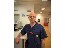 Sammy Klaff, distriktsläkare och verksamhetschef på Trädgårdstorgets vårdcentral i Linköping.