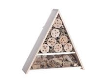 Insektshotell pyramid