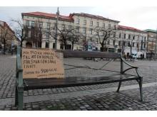 Gerillakampanj för Göteborgs hemlösa