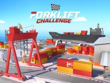 Toyotas mobiltruckspel Forklift Challenge