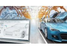 Digital tvilling i Maseratifabriken