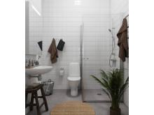 Kortedala badrum
