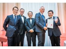 Dustin Norge mottok Growth Award under den Europeiske Premium Partner-konferansen