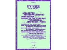 NorthSide 2014 Poster