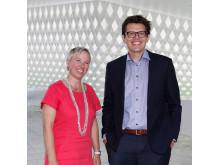 TØR Å TA FEIL. Professor Nathan Furr og innovasjonsekspert Marianne Selle i Sopra Steria er enige i at det er lettere å prøve og feile i Norge på grunn av en åpen og lærevillig kultur i arbeidslivet.