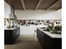 Köksö i Marbodals Ramsvik kök i shakerstil
