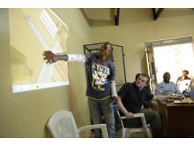 Minecraft-workshop i Kibera, Nairobi