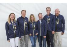 Sveriges OS-lag i hoppning 2016