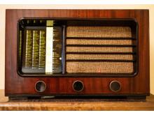 Folkhemslägenheten, radio Foto: Karolina Kristensson, Nordiska museet