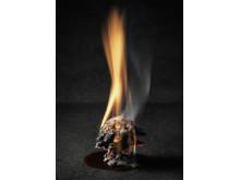 Braskotten, brinnande kotte