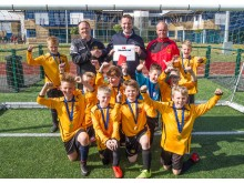 Stena Line rewards young talent at the Stranraer 400 football tournament