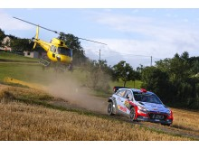 Dubbla pallplaceringar i Rallye Deutchland