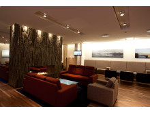 Icelandair Saga Lounge - Keflavik International Airport, Iceland