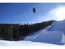 FIS Worldcup, Copper. Ståle Sandbech på trening. Foto: Snowboardforbndet