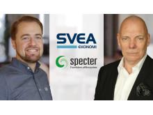 Specter och Svea Ekonomi satsar på friktionsfri lösning för e-handlare