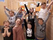 Glade vinnarar ved Flåm skule
