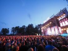 Gyllene Tider avslutningskonsert i Halmstad Foto: Anders Roos