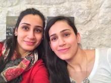 Neha Santasalo (left) and her sister Dr Jasjot Singhota