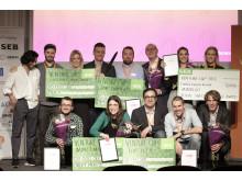 Vinnarna i Venture Cup Öst Startup 2017