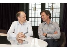 Torgeir Silseth og Petter Stordalen