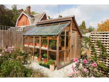 Grow & Store – en kombination av växthus och bod