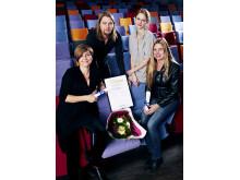 Mottagare av Nordiska Ljuspriset 2010 - prisutdelning i Köpenhamn