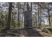Omvägar, Per Kirkeby, Stele, 1997