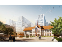 Nya Malmö sjukhus - Östra torget