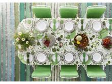Dukat bord La Plata i grönt