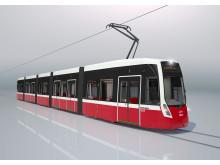 FLEXITY spårvagn för Wien