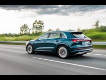 Pallplats för Audi e-tron på elbilstopplistan