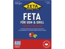 Produktbild Zeta Feta för ugn & grill, tomat