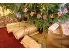 Julepyntet dikterhjem