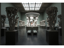 The Fountain Hall in the Vigeland Museum.