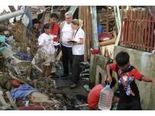 Behovsanalys i Tacloban - Monika Hörling och Per-Erik Karlsson