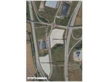 Karta, bilhandelskluster vid E4