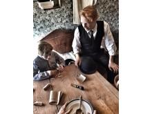 Tre dramatiserade scener på höstlovet, Snus- och Tändsticksmuseum