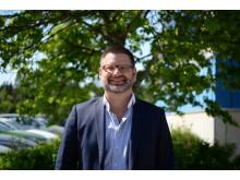 Johan Ottosson, affärsområdeschef KGK.