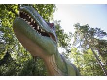 Dinosaurierna är tillbaka med helt ny utställning öppnar 17 april