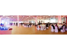 Ball in der Convention Hall im Mercure MOA Berlin