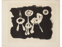 Hans Eklunds Samling - JOAN MIRÓ, litografi, signerad och numrerad 15/75.